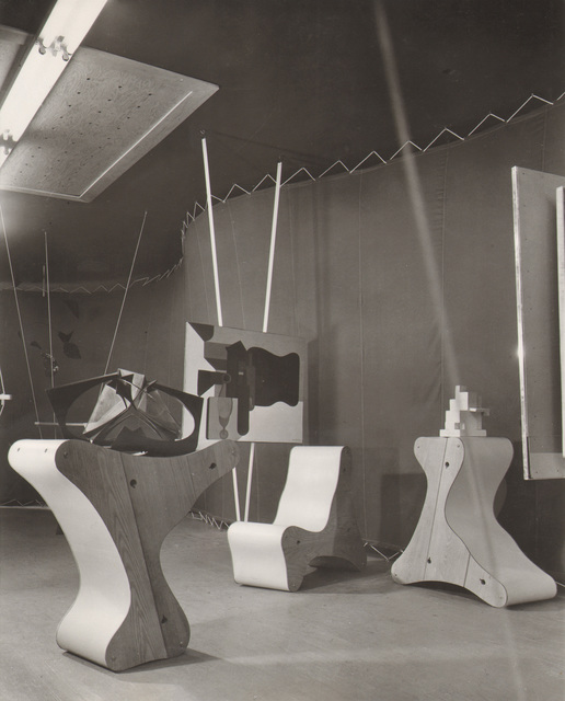 , 'Frederick Kiesler, Abstract Gallery, Art of This Century, New York, 1942,' , MAK – Austrian Museum of Applied Arts / Contemporary Art