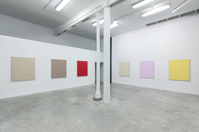 Julião Sarmento, 'The Perfect Home', 2019, Painting, 10 canvases, water-based enamel on linen, Galería Heinrich Ehrhardt