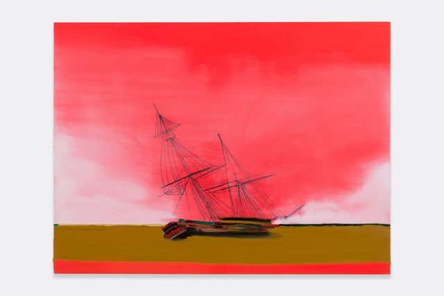 Whitney Bedford, 'Ghost Ship sees its Shadow', 2014, Susanne Vielmetter Los Angeles Projects