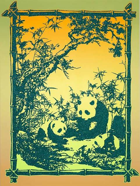 , 'Panda Allegory,' 2014, OLSEN GALLERY