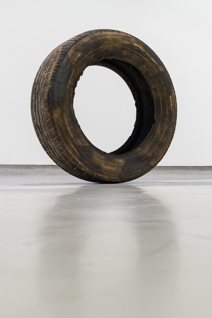 , 'Untitled (Tyre)/ Untitled (Burn),' 2012, Gallery MOMO
