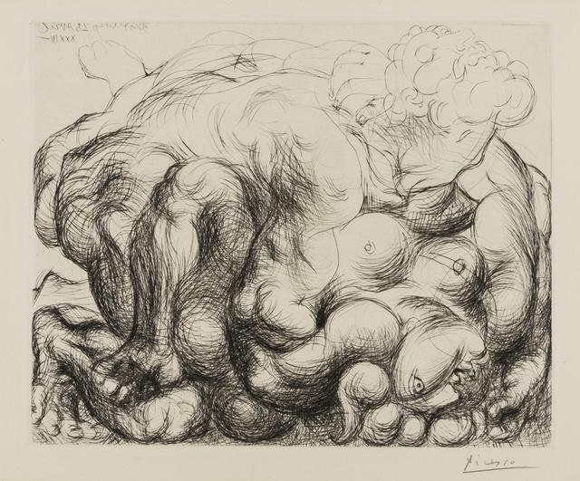 Pablo Picasso, 'Le Voil V (Bloch 182)', 1933, Forum Auctions