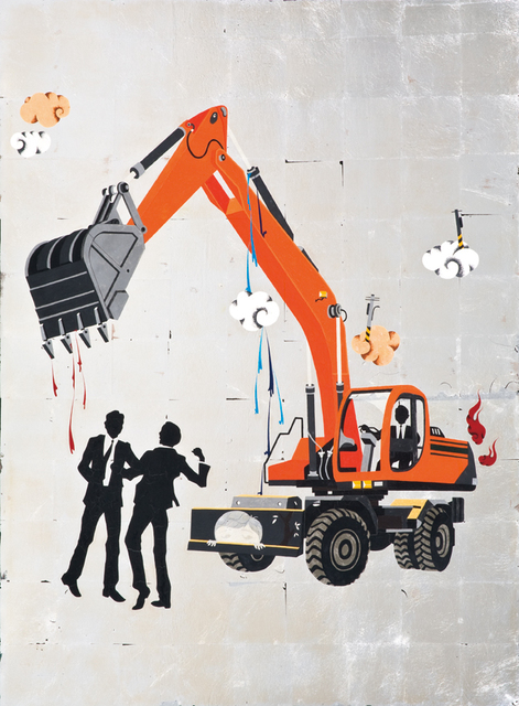 , 'Ferocious people - Unhappy Excavator,' 2013, Aki Gallery