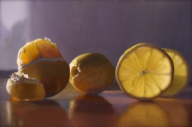 Scott Kiche, 'Lemon in Sherbet Colors', 2019, Wally Workman Gallery