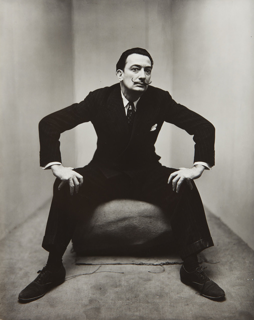 Irving Penn, 'Salvador Dali, New York, February 20', 1947, Phillips