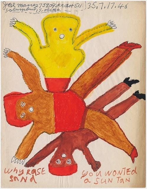 ", '""Why rase sand"",' 1946, Ricco/Maresca Gallery"