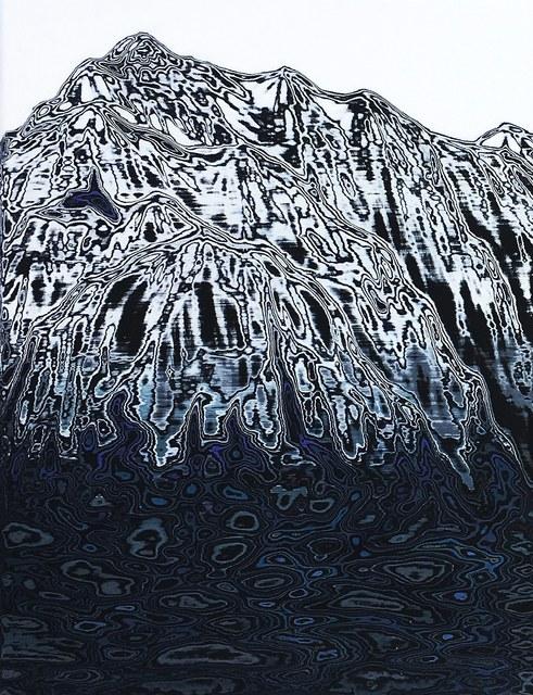 , 'Montagne B,' 2018, Gallery Francoise Livinec