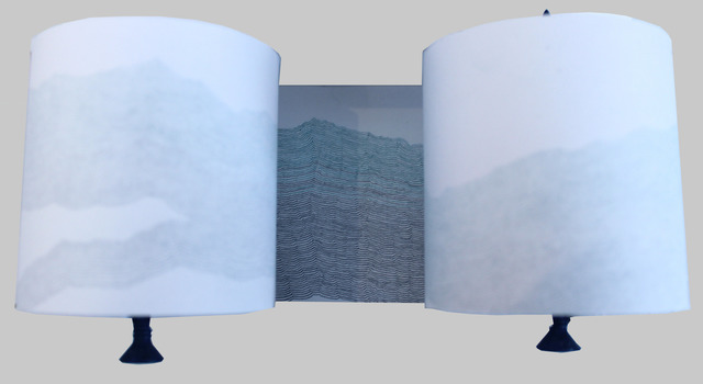 , 'Record (blue and green),' 2014, Josée Bienvenu