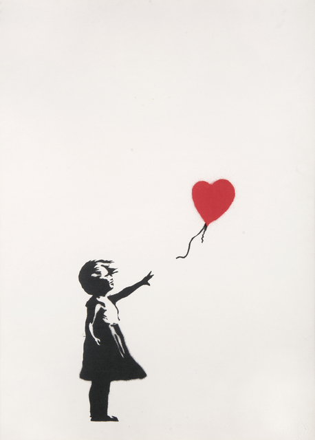 Banksy, 'Girl With Balloon', 2004, Tate Ward Auctions