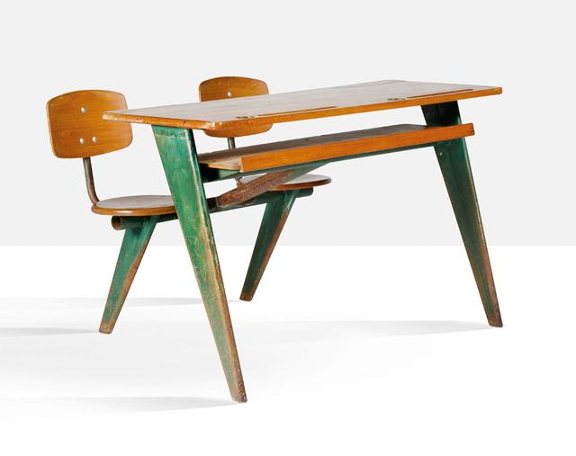 Jean Prouvé, 'School desk', circa 1950, Aguttes
