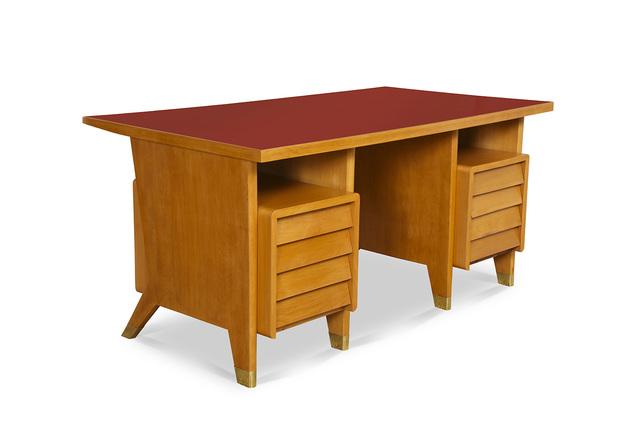 Gio Ponti, 'Custom 8 Drawer Desk', ca. 1955, Donzella LTD