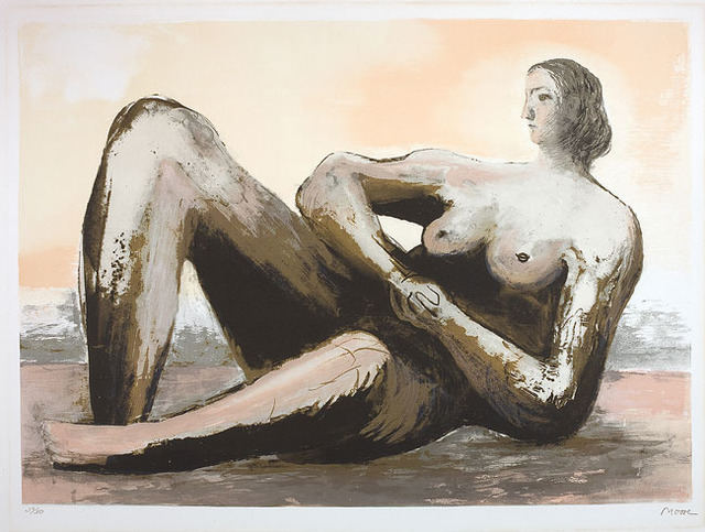 , 'Reclining woman III,' 1980-1981, Olsen Irwin