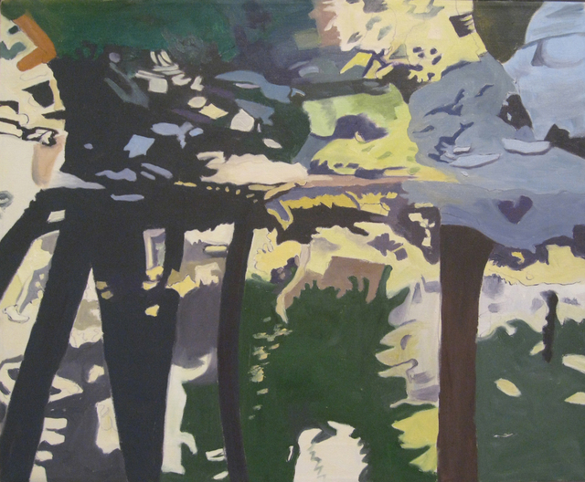 , 'Trees Reflected,' 1997, Walter Wickiser Gallery
