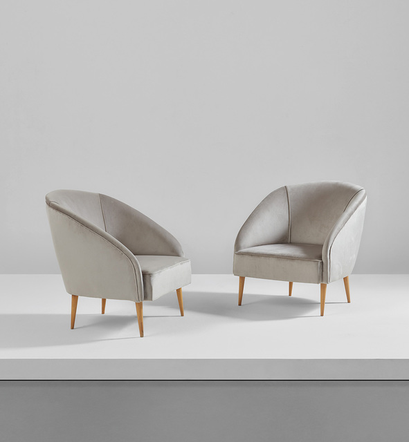 Gio Ponti, 'Pair of armchairs', circa 1936, Phillips