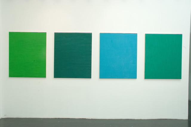, 'Sedimentazione a ritroso (Polittico in 4 parti),' 2013, OTTO ZOO