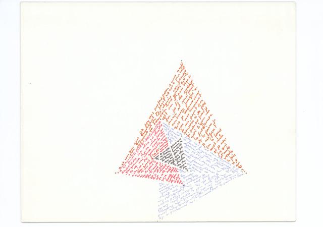 , 'Triángulo de Napoleón,' 1980-1985, àngels barcelona