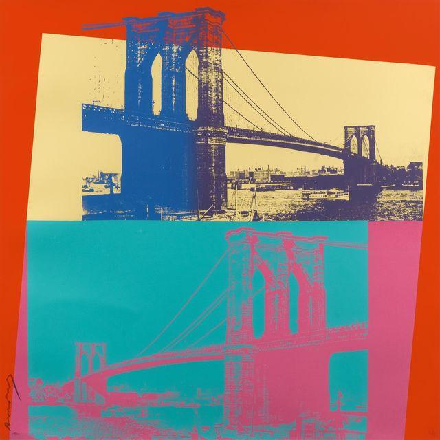 Andy Warhol, 'Brooklyn Bridge, II.290', 1983, Hamilton-Selway Fine Art