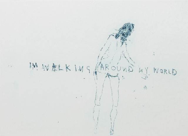 "Tracey Emin, 'TRACEY EMIN ""WALKING AROUND MY WORLD"" SIGNED & NUMBERED', 2011, Arts Limited"