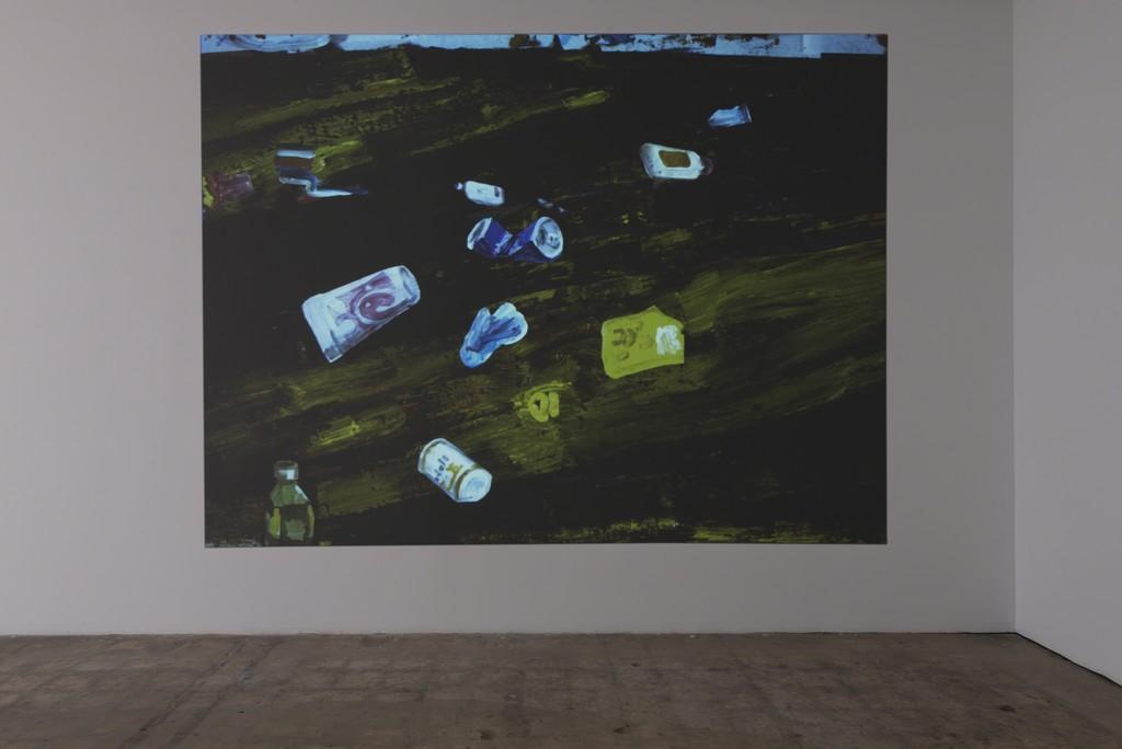 Installation shot, Ezra Johnson, Floating on Top, Video Still