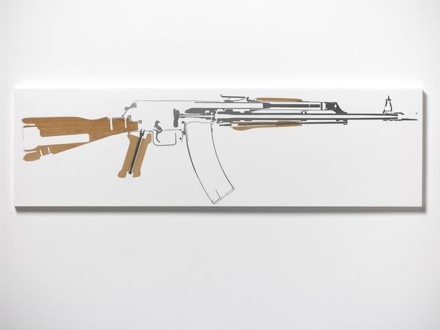 , 'Kalashnikov AK-47 (Leg Side),' 2017, Galerie Thaddaeus Ropac