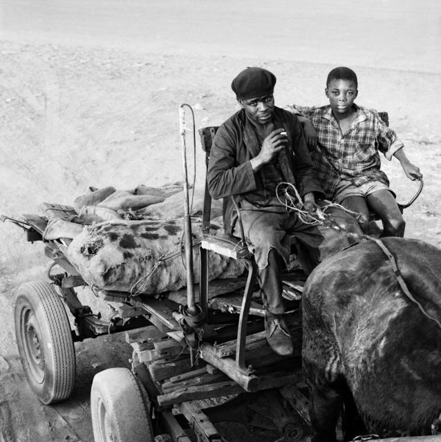 David Goldblatt, 'Coal Merchant and his son, Soweto', 1972, Goodman Gallery