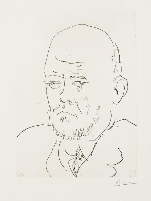 Pablo Picasso, 'Portrait de Vollard IV (Bloch 233)', 1937, Forum Auctions