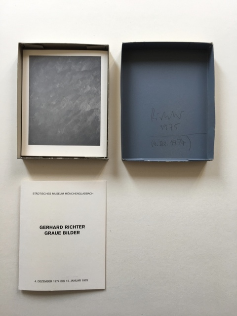 , 'Graue Bilder (Grey Pictures),' 1974, Galerie Andreas Binder