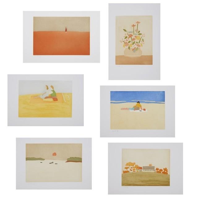 Alex Katz, 'Small Cuts (Portfolio of 6)', 2008, Weng Contemporary