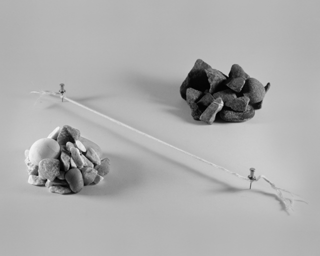 , 'Field Note: Rocks, divided,,' 2015, Brownie Project