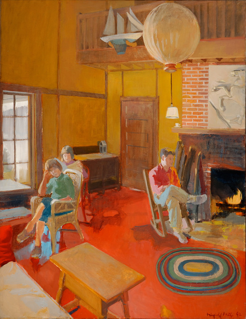 , 'A Day Indoors,' 1962, Parrish Art Museum