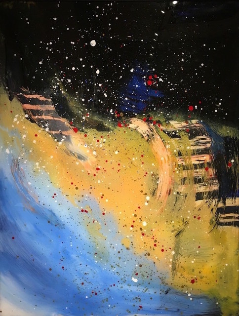 , 'Multiverse Galaxy II,' 2017, Hilton Asmus