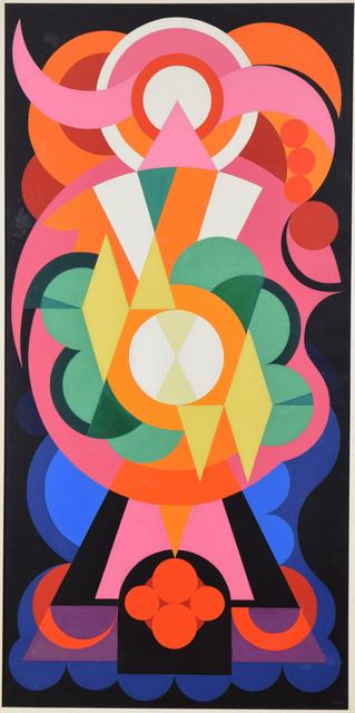 , 'Composition sur les Noms Communs: Ange, Lion, Fauvette,' 1942, Stern Pissarro