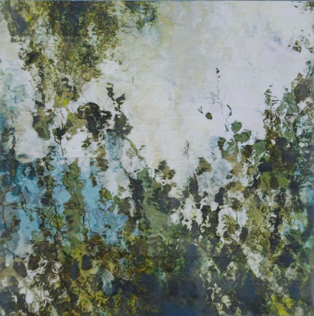 Thea Schrack, 'Green on Water 1', 2015, Julie Nester Gallery