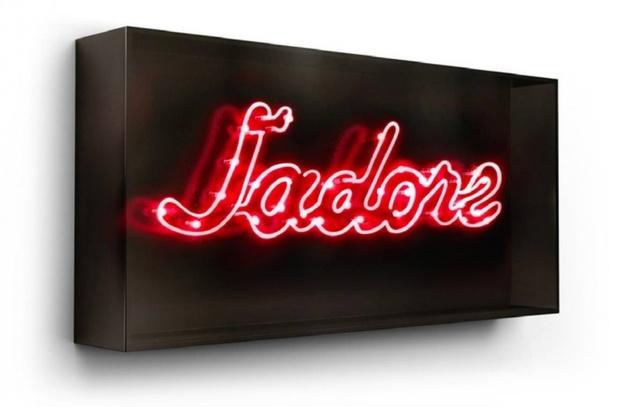 David Drebin, 'J'adore', Installation, Neon Light Installation in a Smoked Acrylic Box, Art Angels