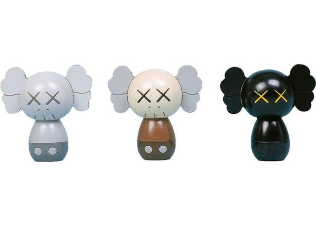 KAWS, 'KAWS: HOLIDAY Japan Kokeshi Doll Set', 2019, Sculpture, Wood, Gallery 1890