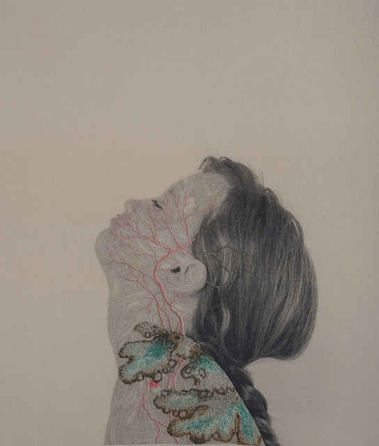 , 'Symbiosis 09,' 2017, Puerta Roja