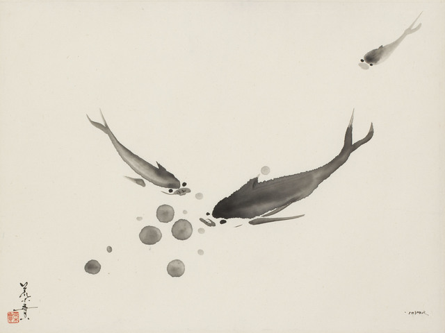 , 'Three Fishes (MA-271),' 1978, Erik Thomsen
