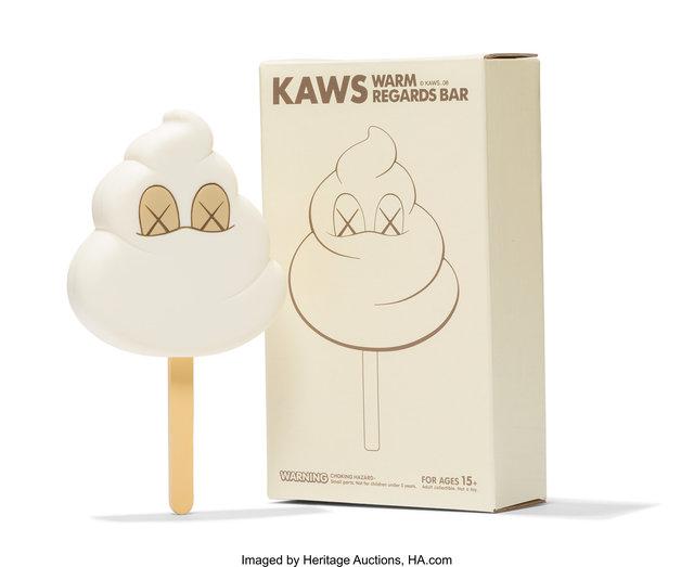 KAWS, 'Warm Regards Bar (White)', 2008, Heritage Auctions