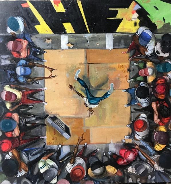 , 'Break,' 2018, Richard Beavers Gallery
