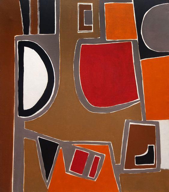 , 'Seated Man,' 1956, Hollis Taggart Galleries
