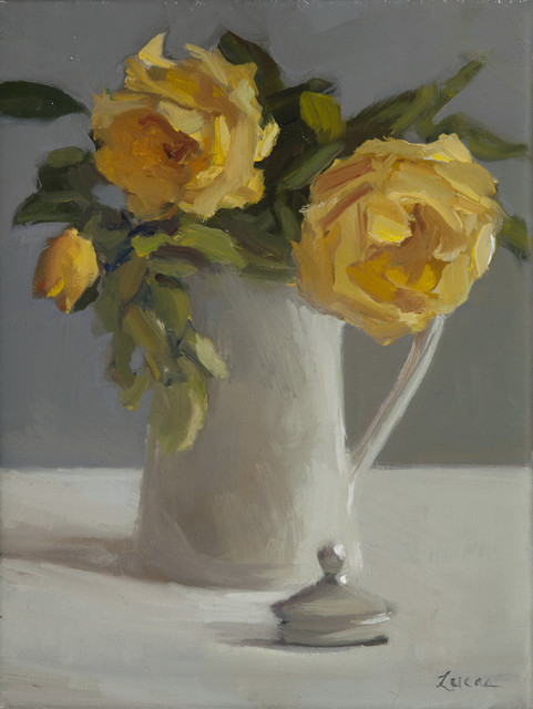 , 'Yellow Roses,' 2017, Grenning Gallery