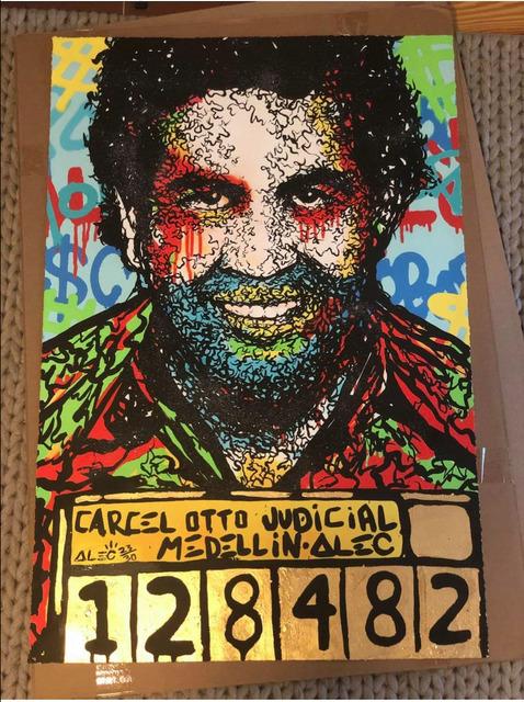 Alec Monopoly, 'Pablo Escobar', 2016, End to End Gallery