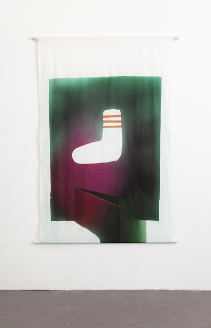 , 'Athletic Sock, Rose and Emerald,' 2016, ADA Gallery