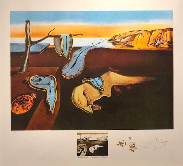 Salvador Dalí, 'The Persistence of Memory from', 1974, Print, Lithograph, New River Fine Art