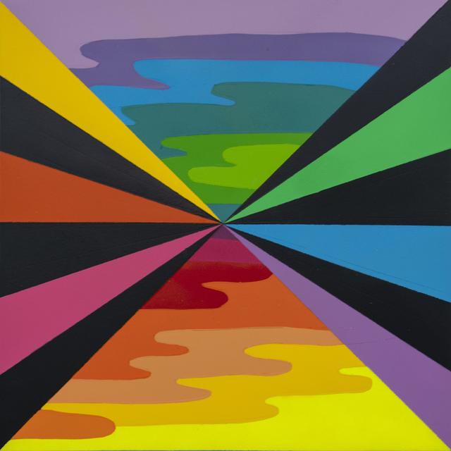 Okuda San Miguel, 'X LANDSCAPE (I)', 2018, Corey Helford Gallery