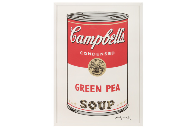 Andy Warhol, 'Campbell's Soup - Green Pea', Chiswick Auctions