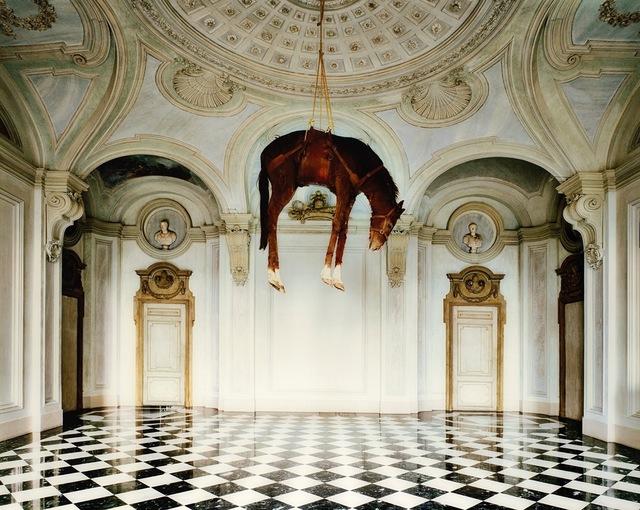 Massimo Listri, 'Castello di Rivoli II', 2007, Photography, Vintage c-print applied on alluminium, Finarte