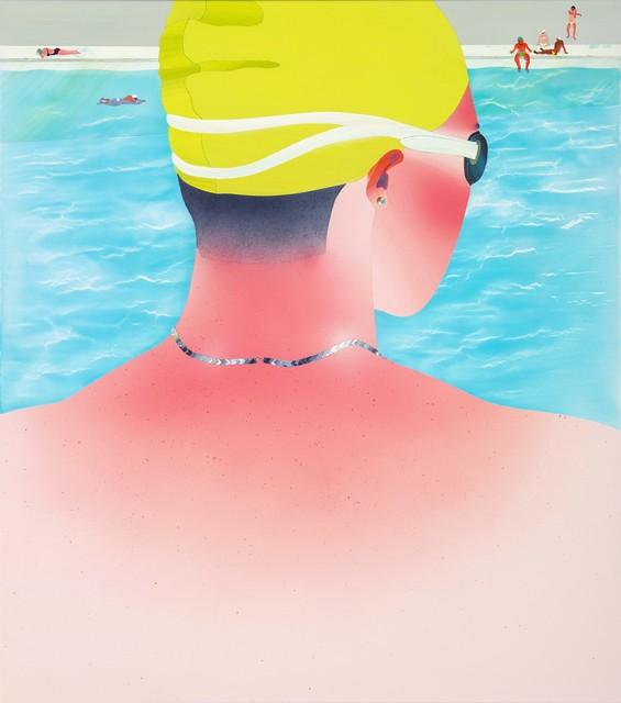, ' Fan-shaped sunburn,' 2014, Aki Gallery