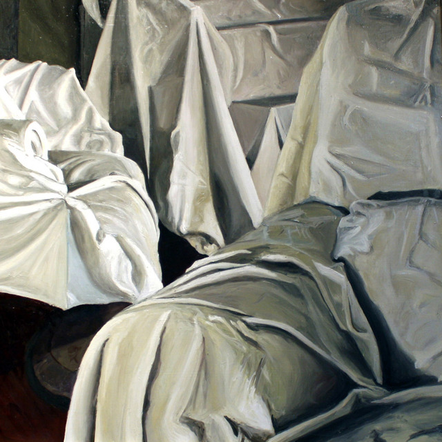 Aimee Cardoso, 'Cover #1', 2016, Painting, Oil on panel, Ro2 Art