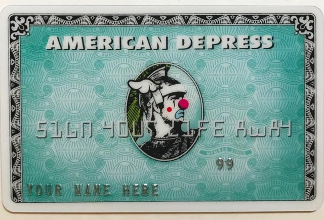 D*Face, 'American Depress card', 2008, DIGARD AUCTION